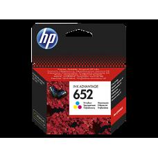 Cartouches Ink Advantage HP 652 trois couleurs (F6V24AE)