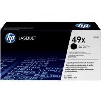 HP 49X toner LaserJet noir grande capacité  authentique(Q5949X)