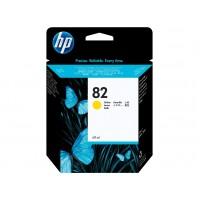 HP 82 cartouche d'encre jaune 69 ml(C4913A)