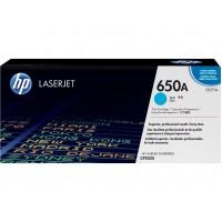 HP 650A toner LaserJet cyan authentique(CE271A)