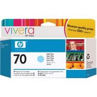 HP 70 cartouche d'encre cyan clair 130 ml(C9390A)