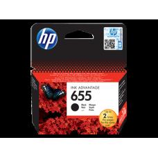 HP 655 cartouche d'encre noir Advantage authentique (CZ109AE)