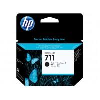 HP 711 cartouche d'encre noir 80 ml(CZ133A)