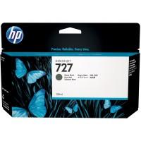 HP 727 cartouche d'encre Designjet noir mat 130 ml(B3P22A)